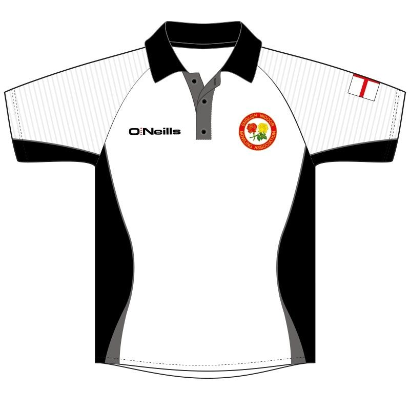 England Indoor Bowls Association Retail Printed Polo (Kids)