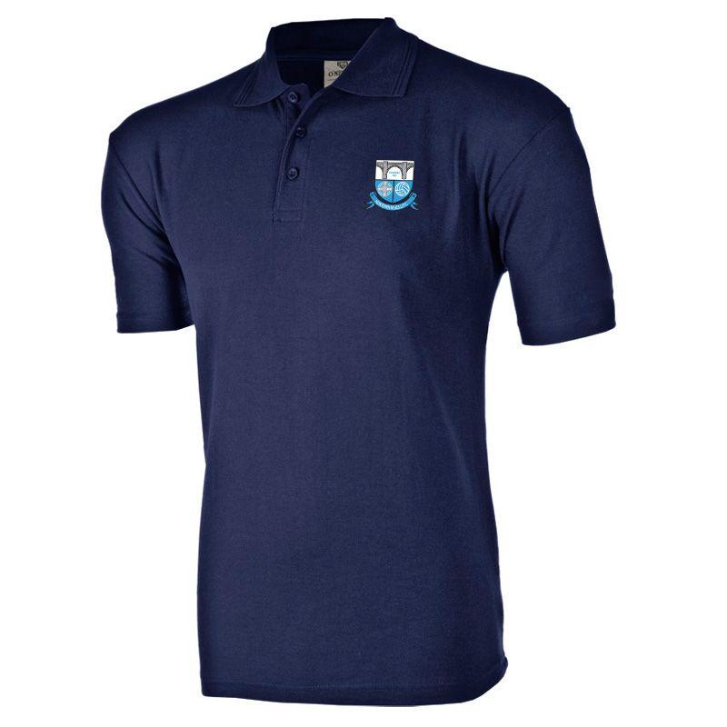 Newtown Blues GFC Ridged Polo (Navy)