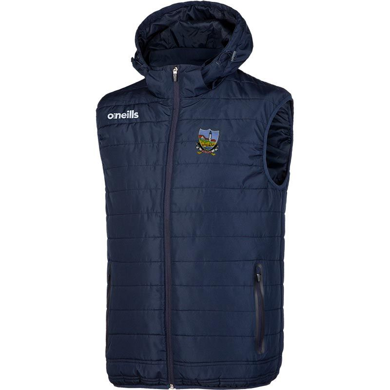 Portland Hurling Club Kids' Solar Hooded Gilet