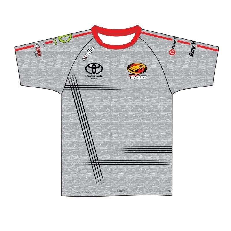 grey eagles jersey