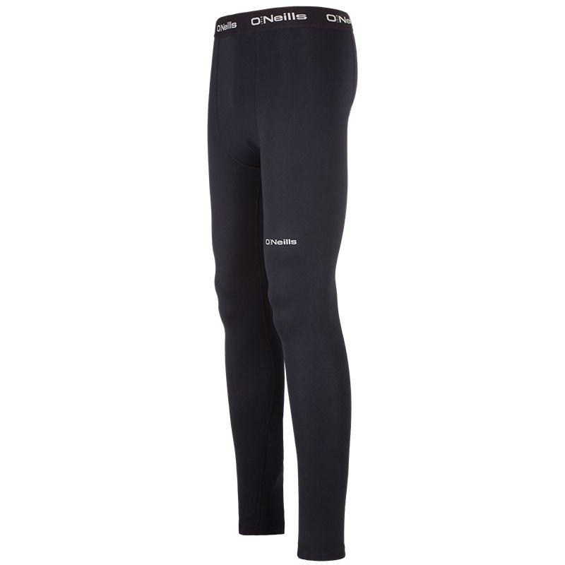 Kids' Pro Body Regular Legging Pants Black/Reflective Silver