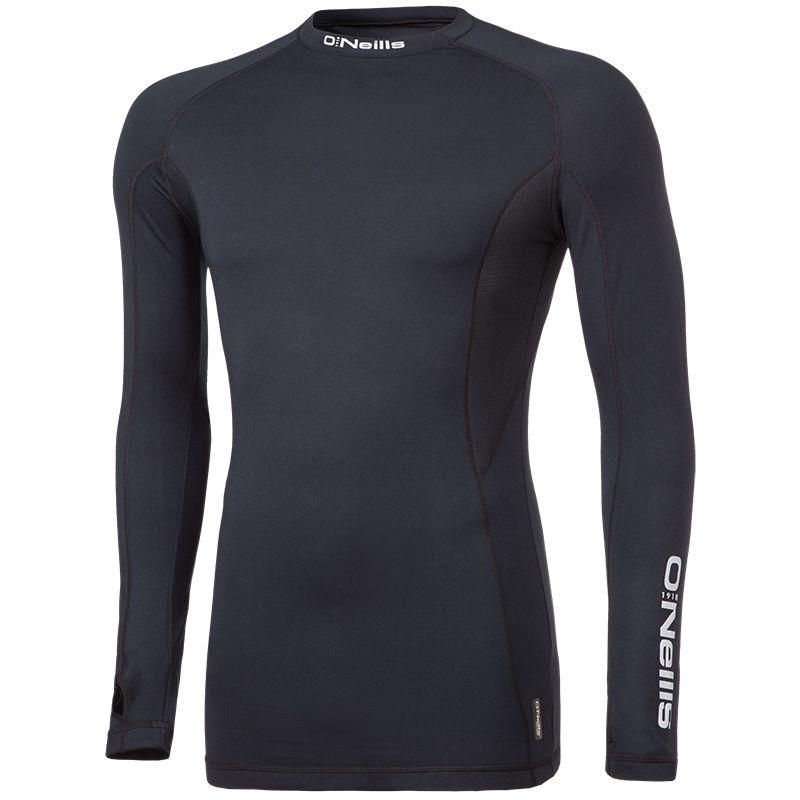 Pro Body Fleece Lined Top Black