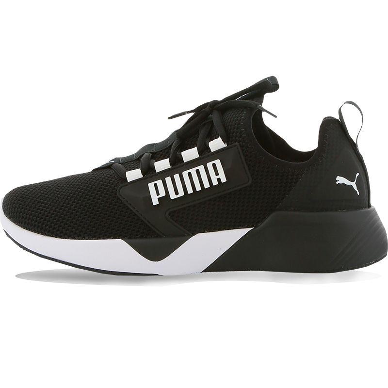 Kids' Puma Retaliate Junior Trainers Black / White