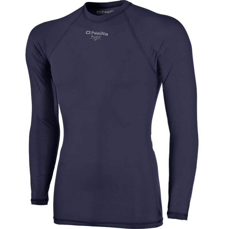 Pure Baselayer Long Sleeve Top (Navy) Kids