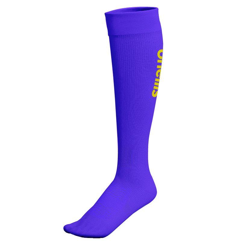 Wycombe Wanderers FC Kids' Purple Keeper Sock