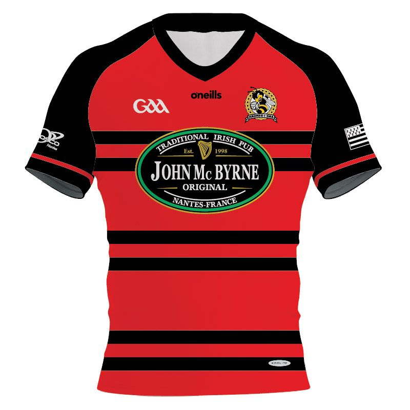 Nantes GAA Women's Fit Jersey Red