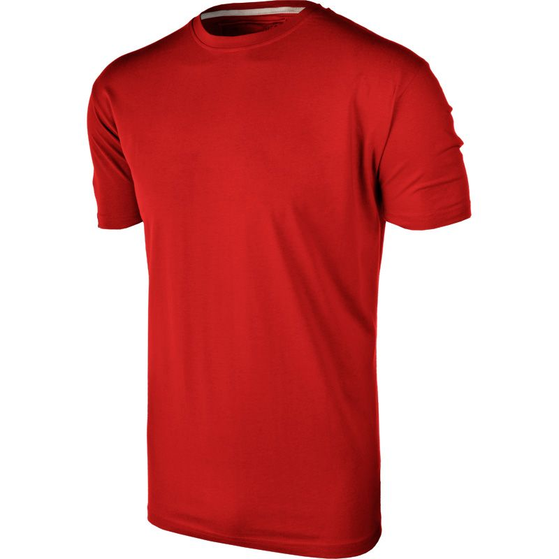 Kids' Basic Cotton T-Shirt Red