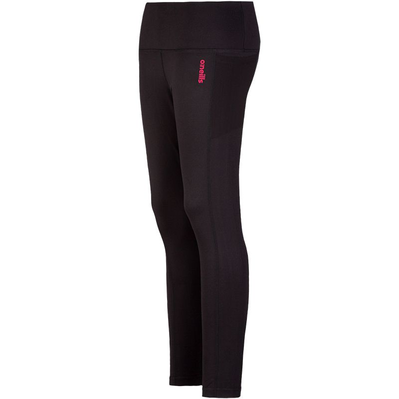 Women's Reese 7/8 Length Tights Black / Pink