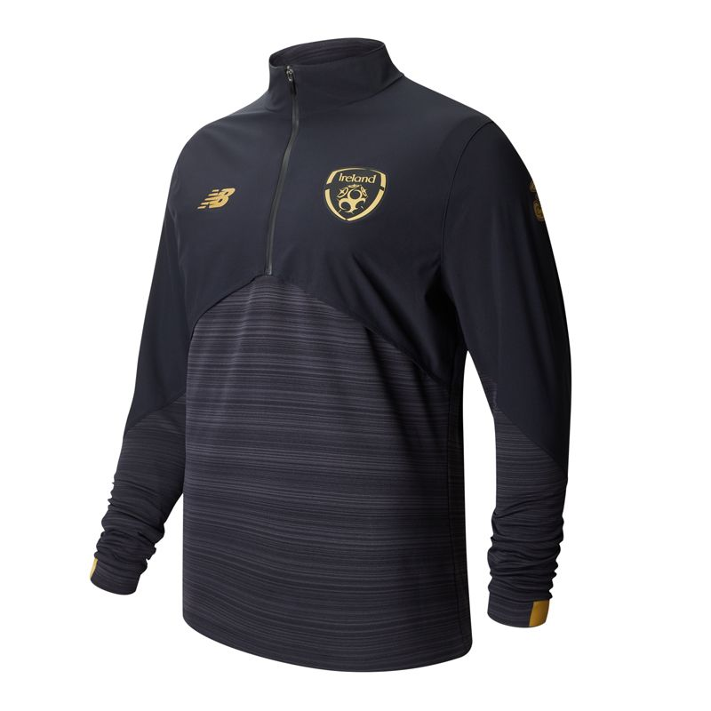 New Balance Republic of Ireland 2020 Adults On-Pitch Vector Speed Top Black