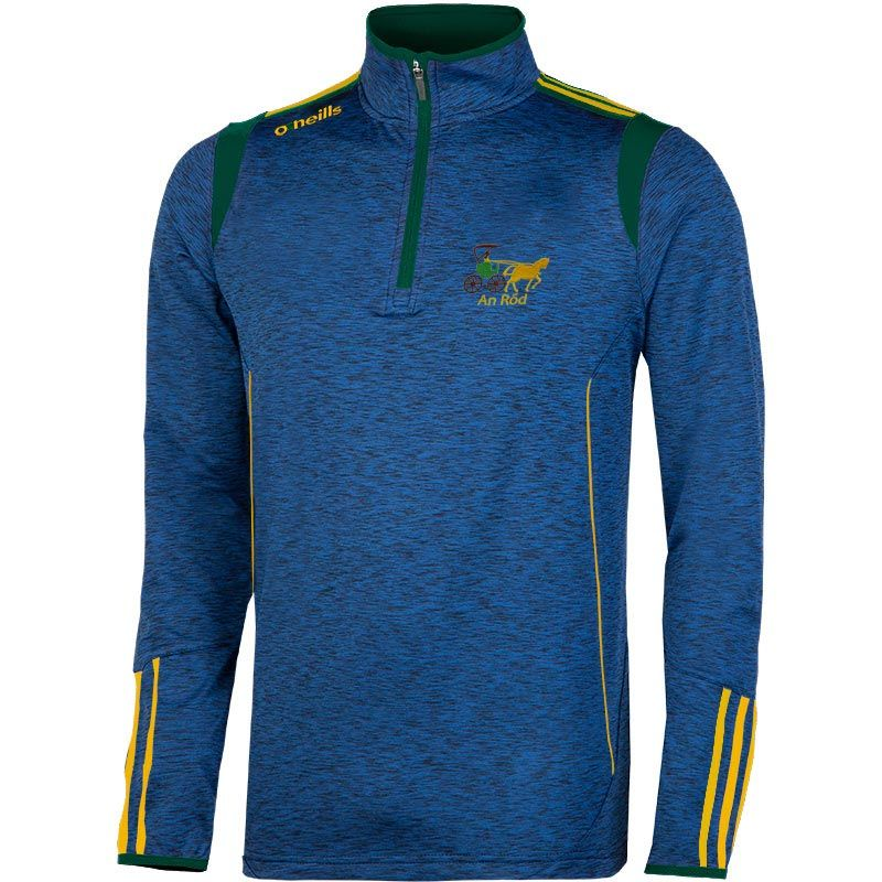 Rhode GAA Solar Brushed Half Zip Top