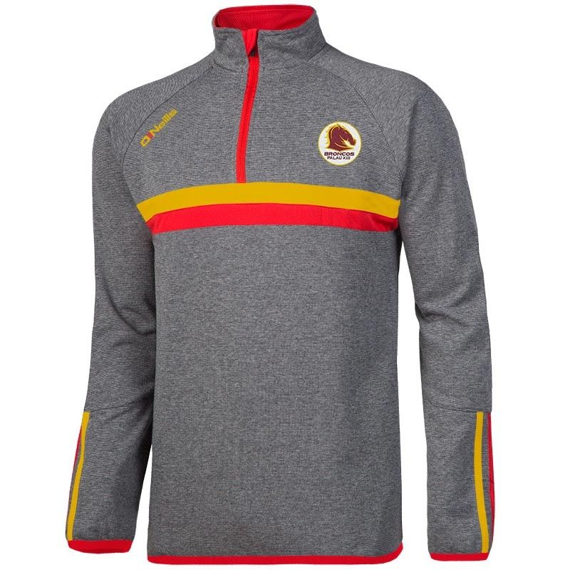 Broncos Palau XIII Rick Half Zip Fleece Top