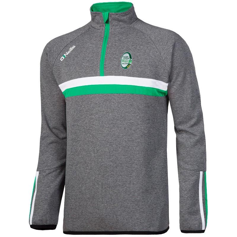 Rugby League Ireland Rick Half Zip Fleece Top