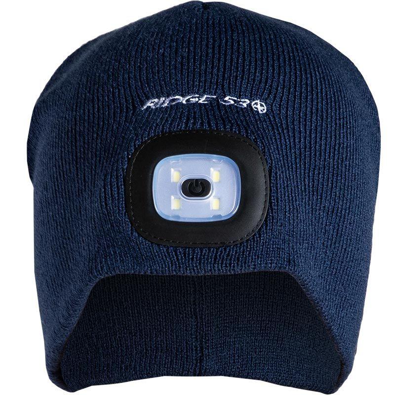 Ridge 53 LED Beanie Hat Navy