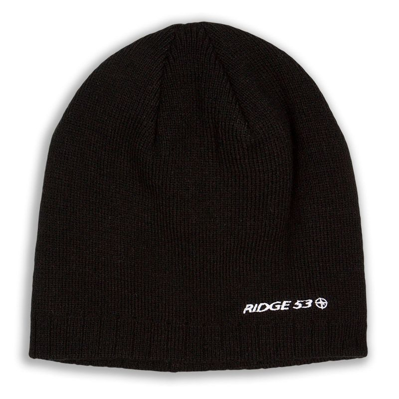 Ridge 53 Beanie Hat Black