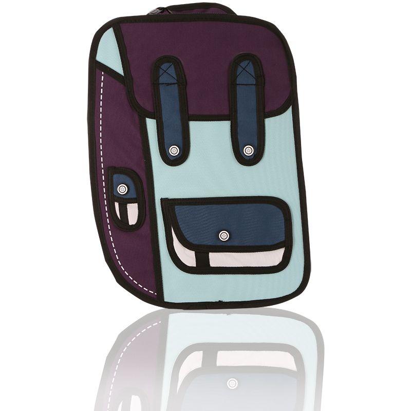 Ridge 53 2D Small Backpack Aqua / Navy / Blue / White