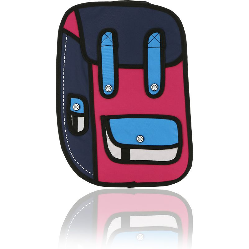 Ridge 53 2D Small Backpack Pink / Purple / Red / White