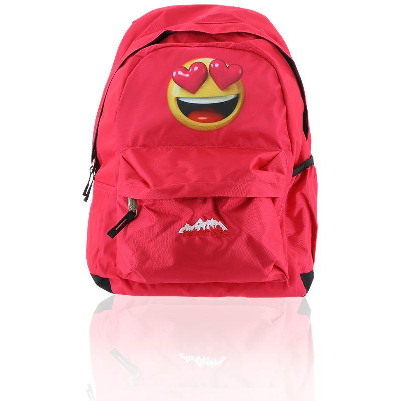 Ridge 53 Morgan Ella Backpack Pink Emoji