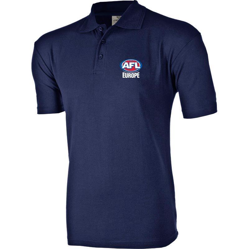 AFL EUROPE Ridged Club Polo