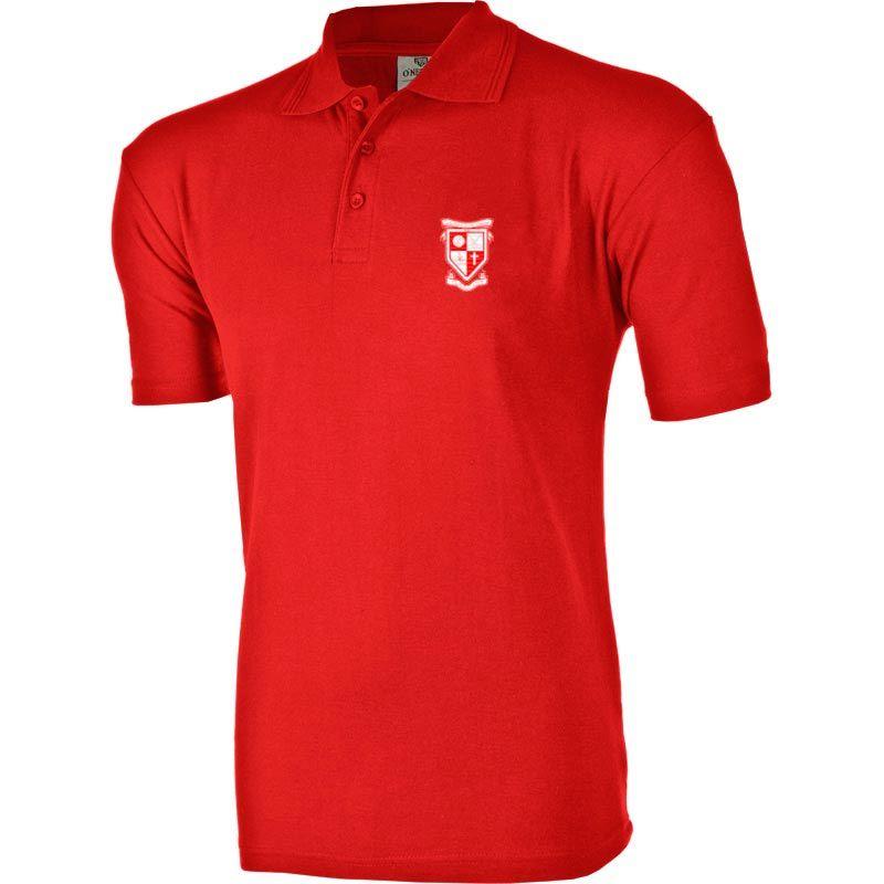 Stradbally Ridged Polo (Red)