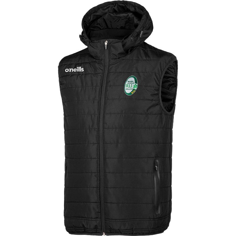 Rugby League Ireland Kids' Solar Hooded Gilet