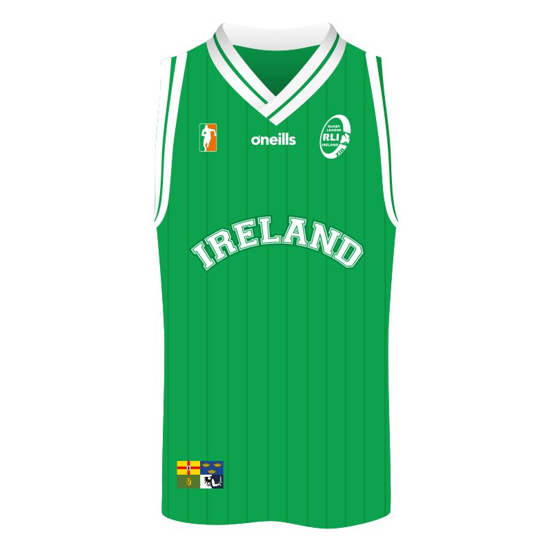 Rugby League Ireland Kids' Basketball Vest