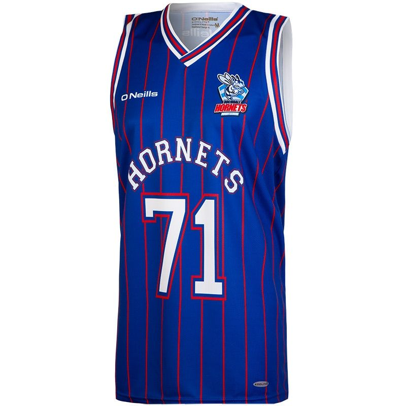 Rochdale Hornets RL Rugby Vest (Royal)
