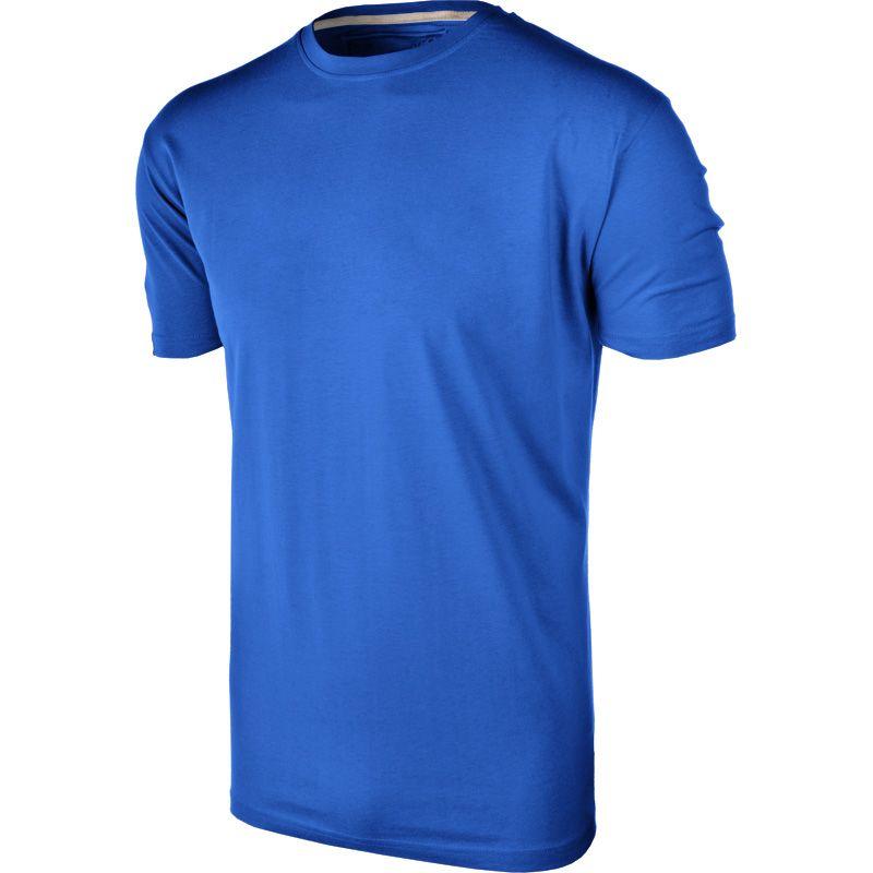 Men's Basic Cotton T-Shirt Royal