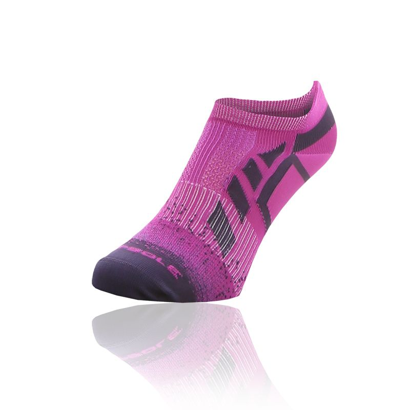 Women's Sof Sole 2 Pack Running Select Socks Grape / Purple / White