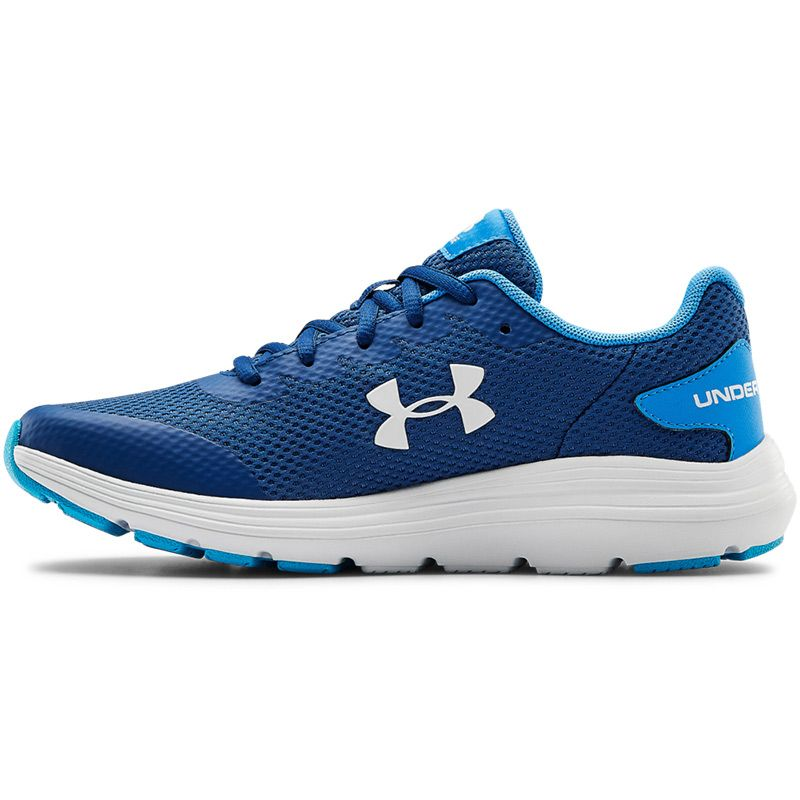 Under Armour Mens Surge 2 Running Shoes Trainers Sneakers Blue Sports Breathable