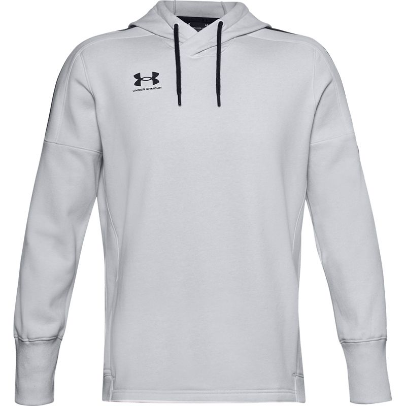 Men's Under Armour Accelerate Off-Pitch Hoodie Halo Grey / Black