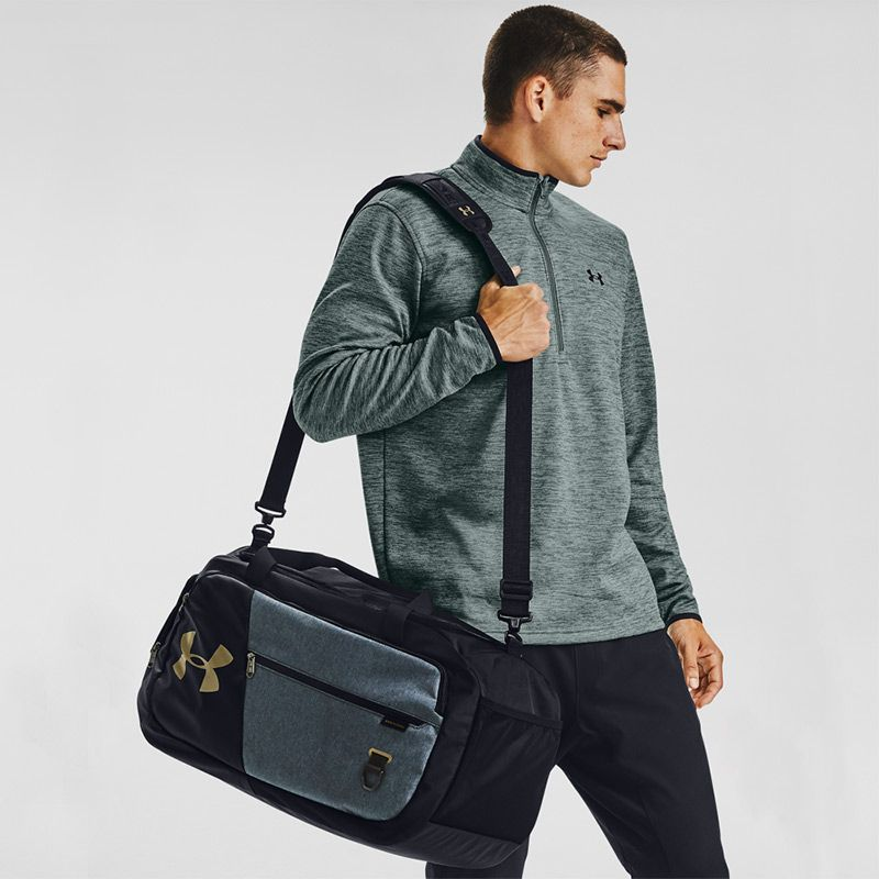 Under Armour Undeniable 4.0 Medium Duffle Bag Black / Medium Heather