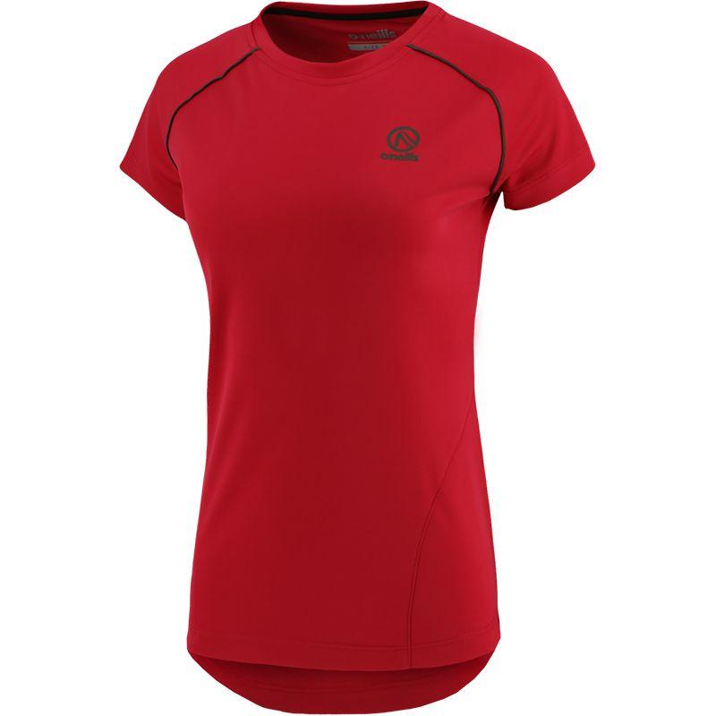 Women's Savannah T-Shirt Pink / Black / Khaki