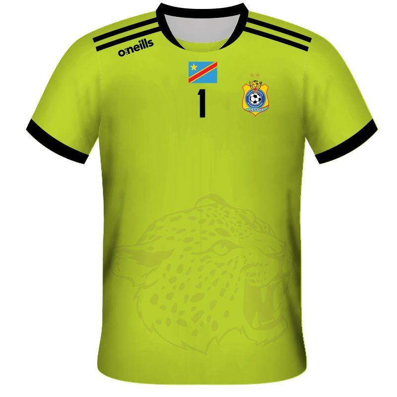 Democratic Republic of Congo Away Goalkeeper Replica Jersey
