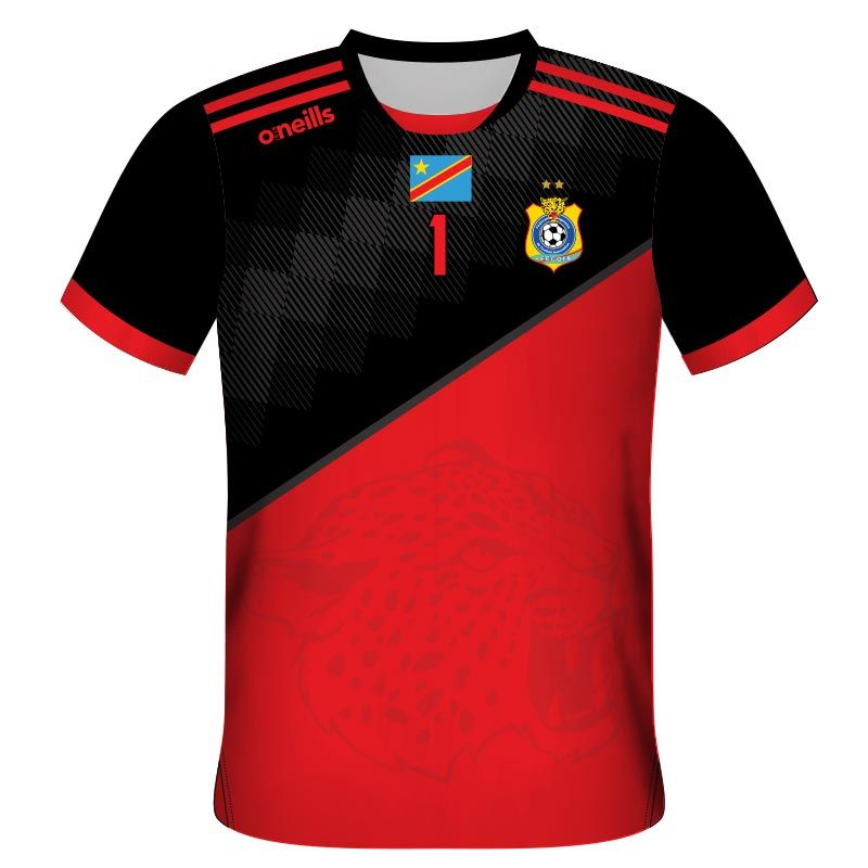 Democratic Republic of Congo Home Goalkeeper Replica Jersey