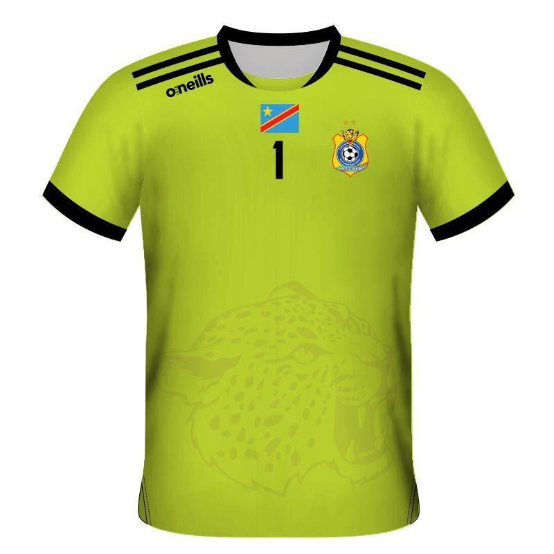 Democratic Republic of Congo Away Goalkeeper Jersey
