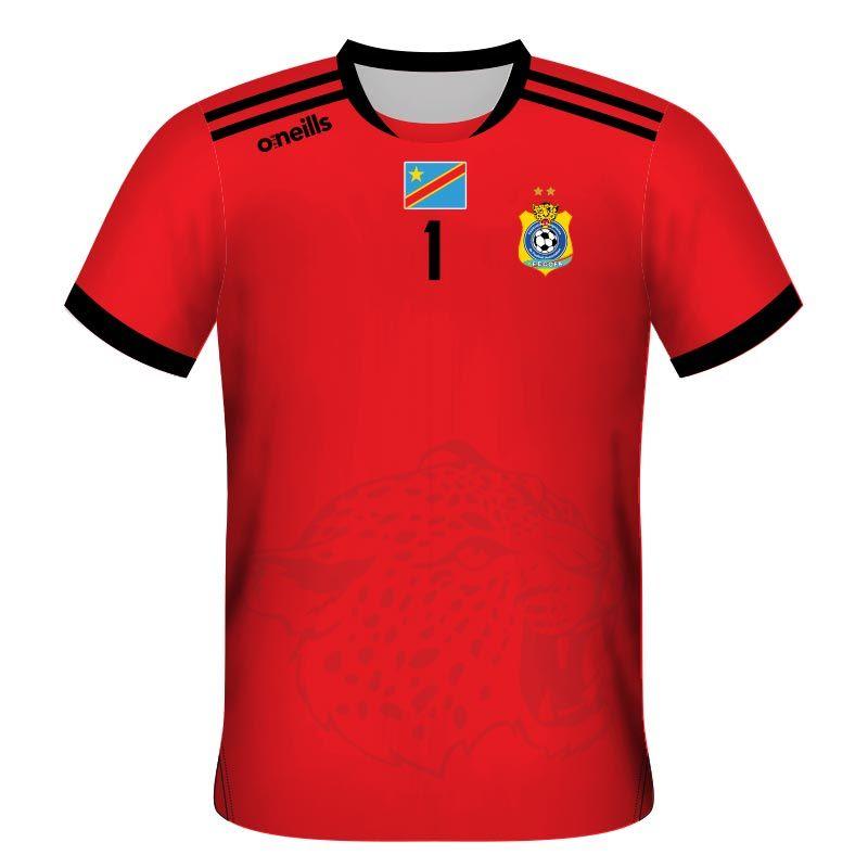 Democratic Republic of Congo Away Goalkeeper Soccer Jersey