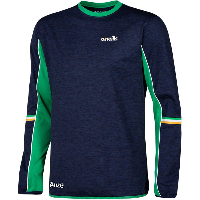 Men's Shay Eire Brushed Sweatshirt Marine / Green / White