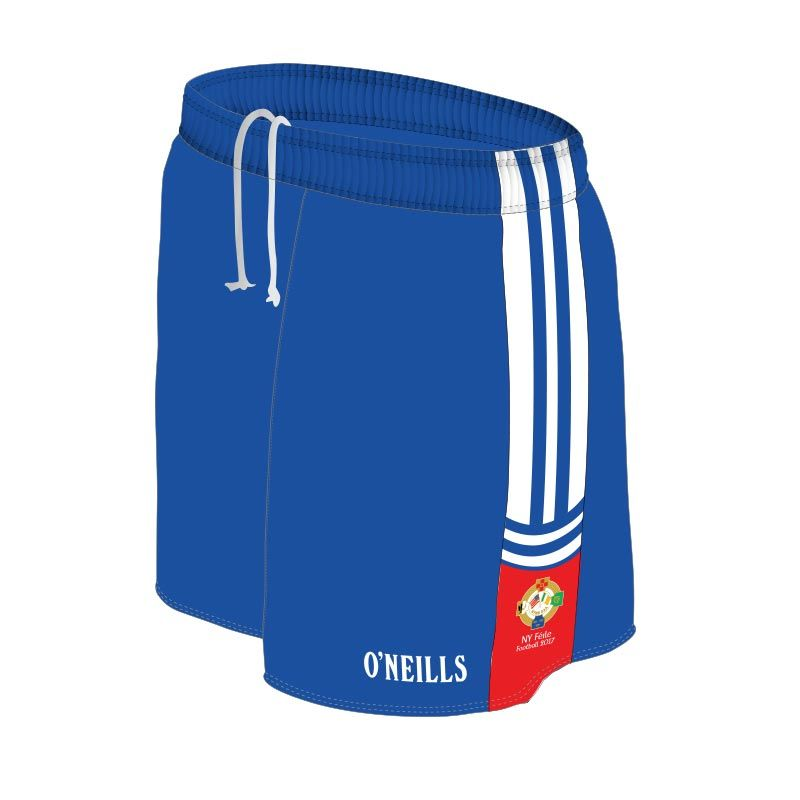 NY Boys Football Féile GAA Shorts (Royal)