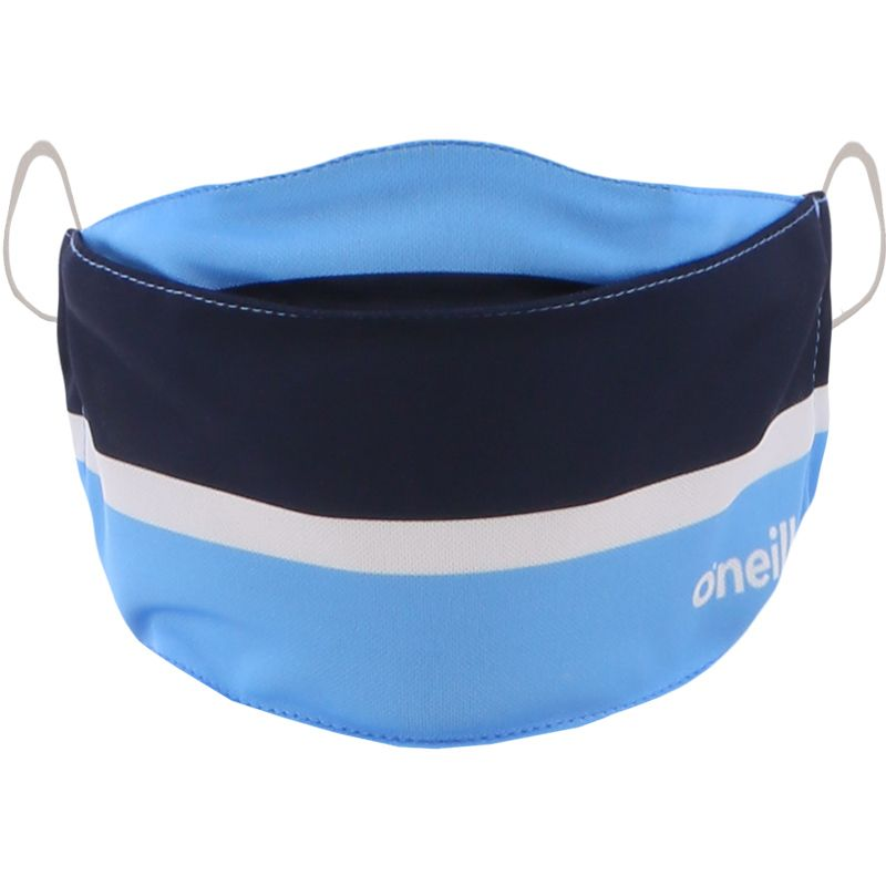 Kids' Reusable Face Mask Sky / Marine / White