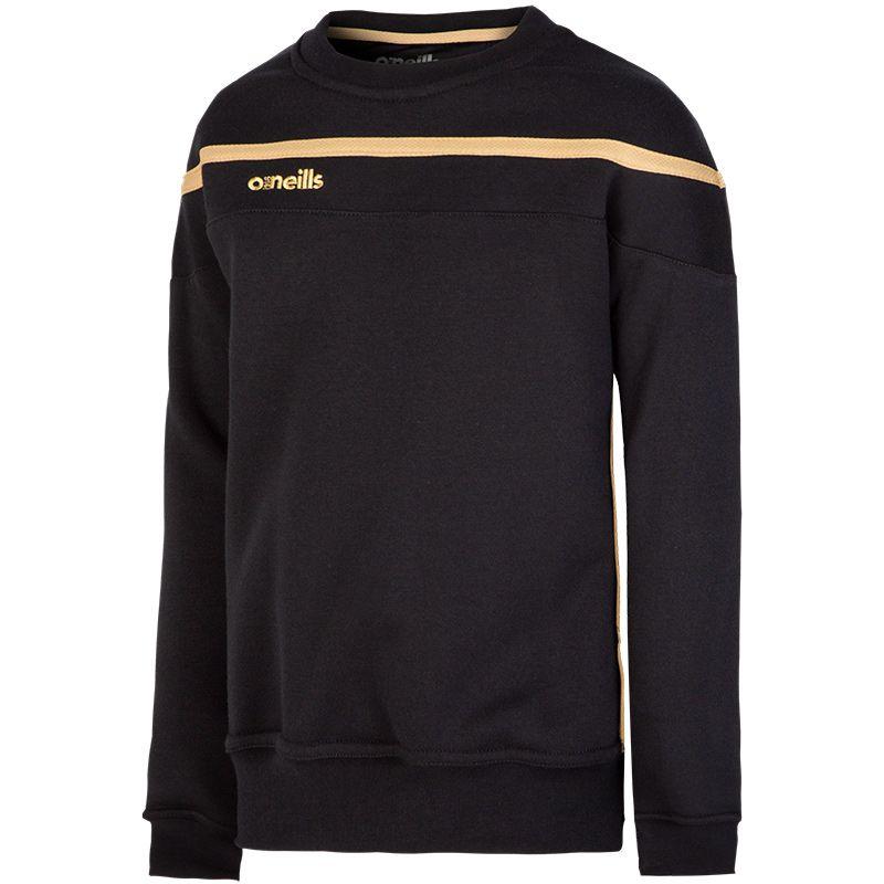 Kids' Slaney Sweatshirt Black / Gold