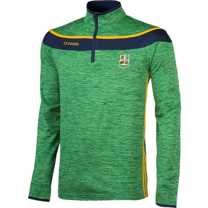 Castledaly GAA Slaney 3s Brushed Half Zip Training Top (Kids)