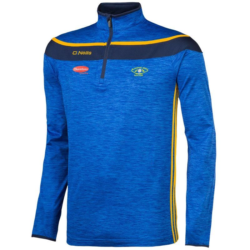 Blackhall Gaels GAA Slaney 3s Brushed Half Zip Training Top (Kids)