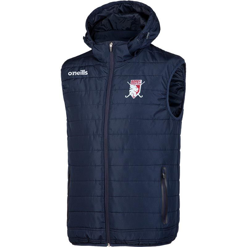 Gorey Hockey club Men's Solar Hooded Gilet