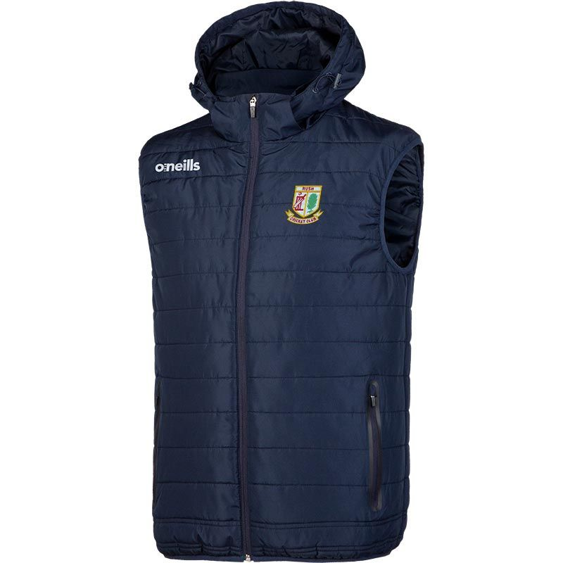 Rush Cricket Club Men's Solar Hooded Gilet