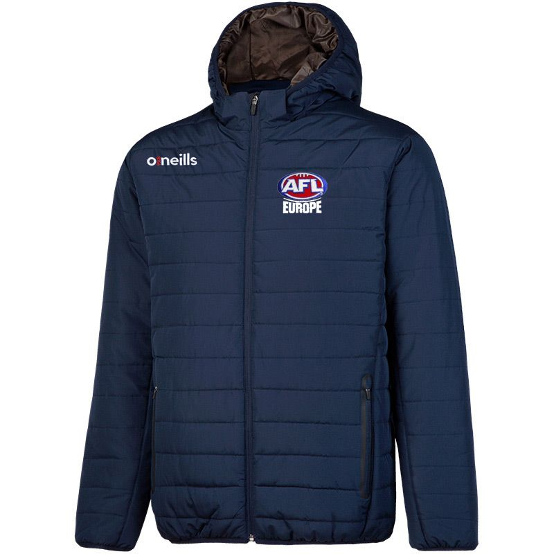 AFL Europe Solar Mens Hooded Padded Jacket