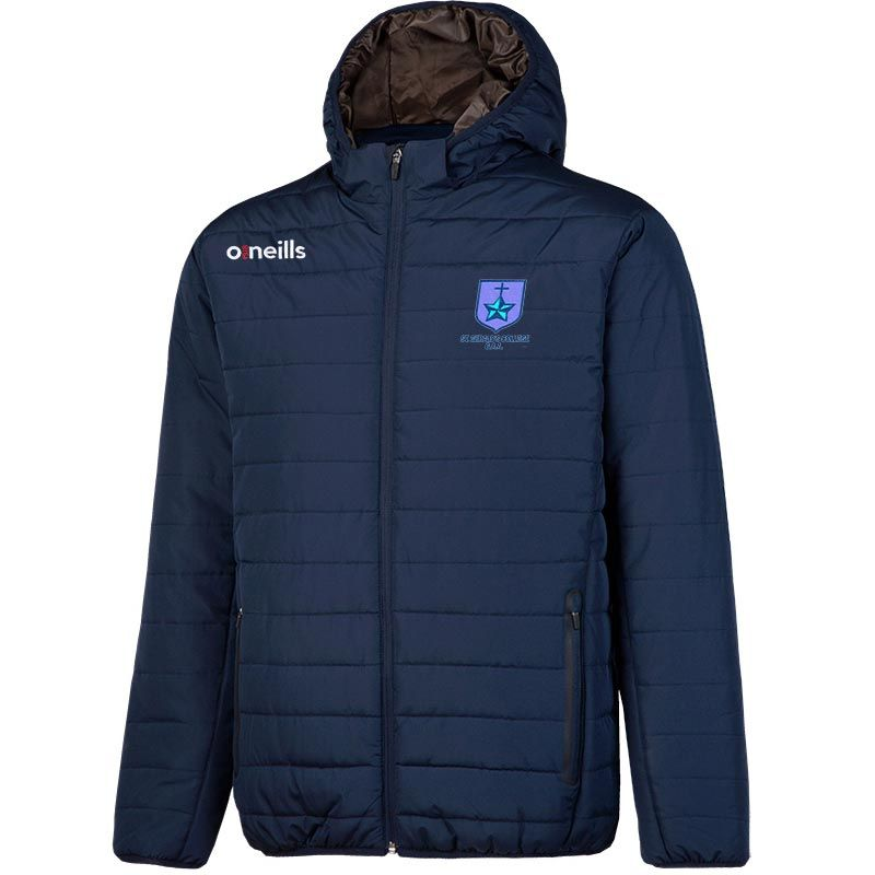 St Gerald's College Solar Mens Hooded Padded Jacket