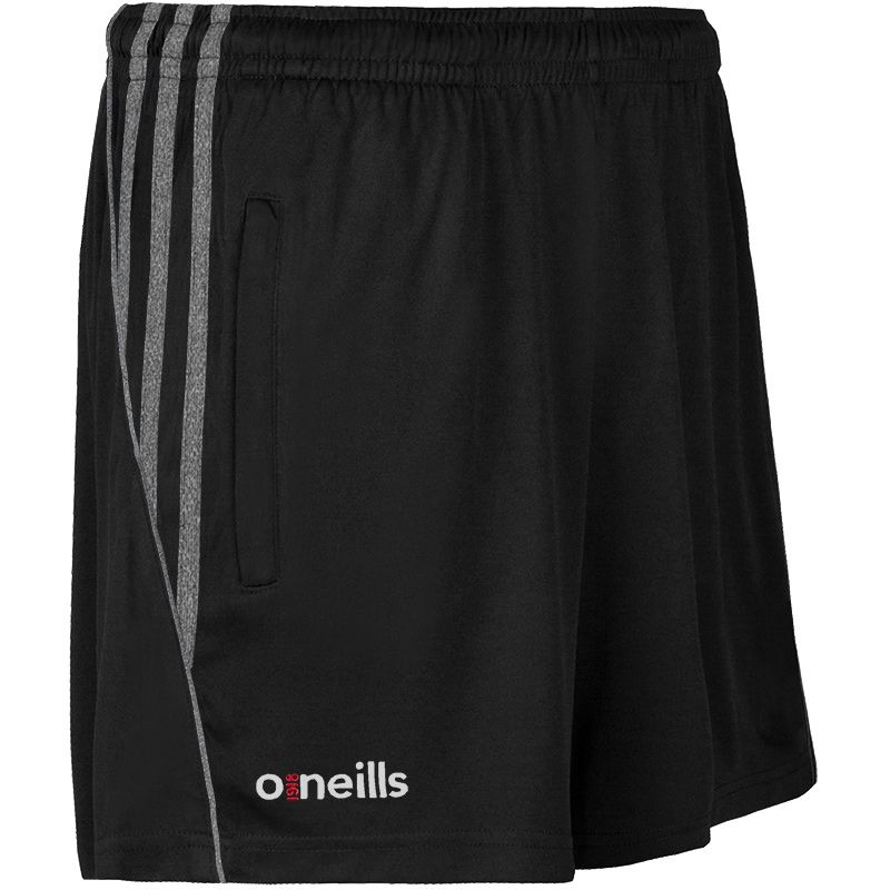 Kids' Solar 3 Stripe Shorts Black / Black