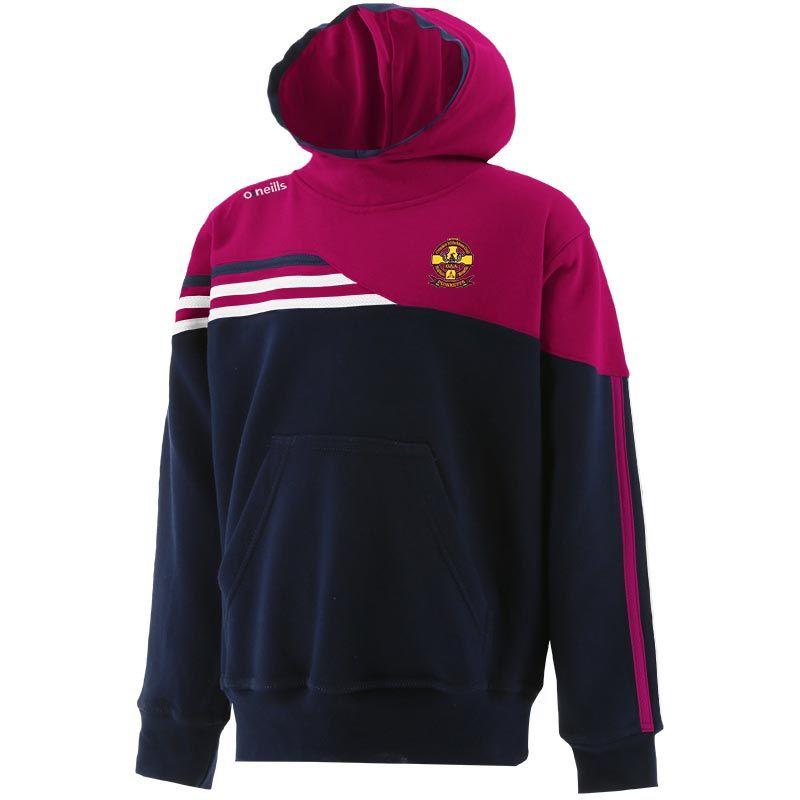 St Oliver Plunkett Eoghan Ruadh GAA Club Kids' Nevis Fleece Overhead Hoodie