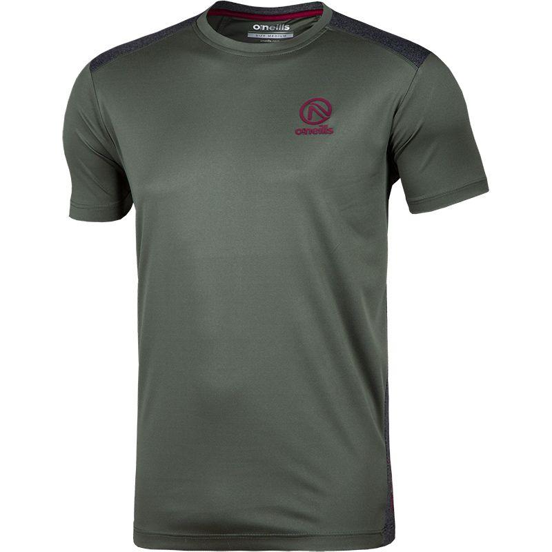 Men's Spartan T-Shirt Green / Black / Grey