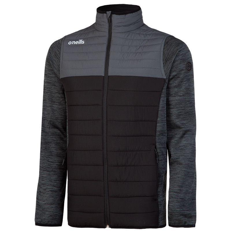 Kids' Spencer Padded Jacket Black / Grey